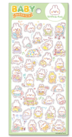 Stickervel Baby Happy Bunny