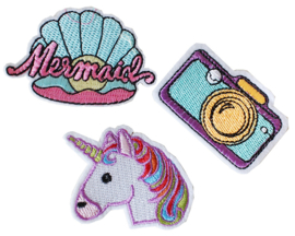 Patch Mermaid, Unicorn of Camera
