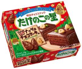 Takenoko no Sato Choco Cake chocolates