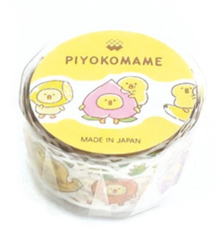 Washi tape -  Piyoko Beans Series Die-Cut Fruit
