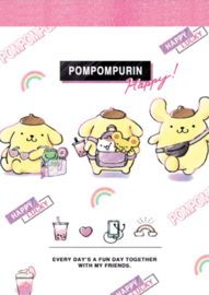 Memoblok Sanrio Small - PomponPurin Travel