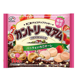 Country Ma'am Vanilla & Strawberry Cookie Share-pack