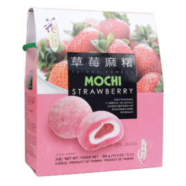 Mochi Strawberry - uitdeelverpakking (20 mini's)