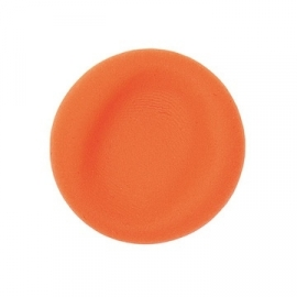 Fluffy clay - orange - air dry