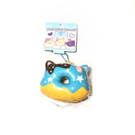 Squishy Poli Donut Blue