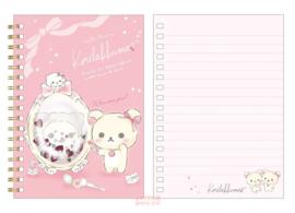 Notebook San-X Korilakkuma Glitter Mirror
