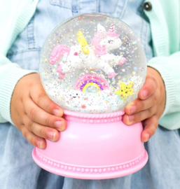 Kawaii Unicorn Snowglobe Light