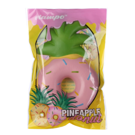 Squishy Vlampo Pineapple Donut - Pink