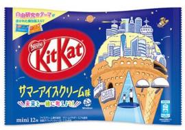 KitKat mini Summer Icecream - zak 12 stuks