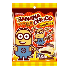 Minions Soft Chocolate Cookies Banana Choco
