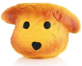 Squishy Dog Bread
