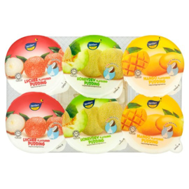 Mixed Jelly Pudding with Nata de Coco - 6 cups