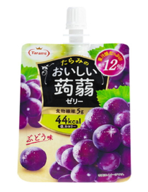 Oishii Jelly Pouch - Traube
