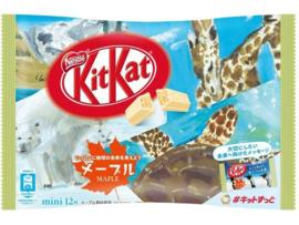 KitKat mini Maple - 12 mini pcs