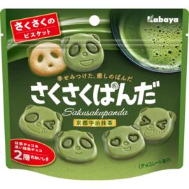 Kabaya Saku Saku Panda Matcha