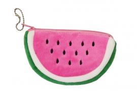 Plushie portemonnee watermeloentje PINK
