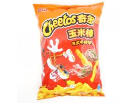 Cheetos Japanese Steak Flavour