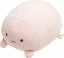 Sumikkugurashi Mochi Stretchy plushie pink (furoshiki)