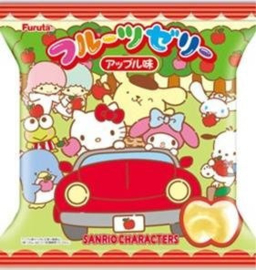 Jellies in a cup - Sanrio Fruit Jelly