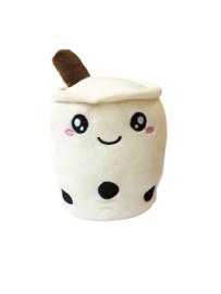 Kawaii Soft Boba Plush Small White