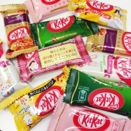 Japanese KitKat surprise - 4 mixed pieces