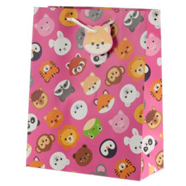 Kawaii Cadeautasje - Pink animals