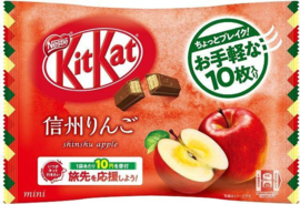 KitKat mini Shinshu Apple - zak 10 stuks