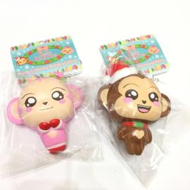 Squishy Puni Maru Cheeki & Cheeka Holiday Edition