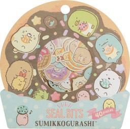 Sticker pouch Sumikkogurashi Seal Bits