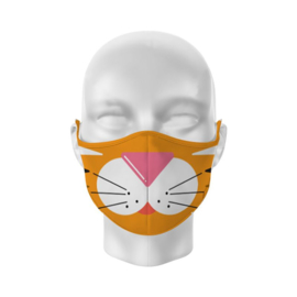 Mondkapje - Tiger Face