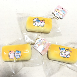 Squishy Poli Sponge Finger - Bread