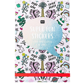 Stickerbook Super Fun Roze