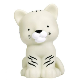 Kawaii lampje witte tijger