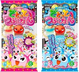 Popin Cookin Dodotto Octopus Balls - Grape / Soda Japanischen DIY Süßigkeiten