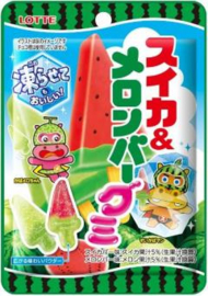 Watermelon & Melon Bar gummy