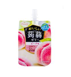 Oishii Jelly Pouch - Pfirsich