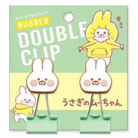 Rubber paperclip - Rabbit