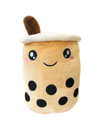 Kawaii Soft Boba Plush Large Brown
