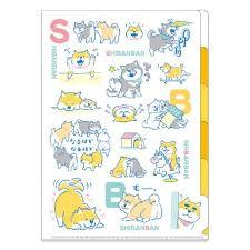 A4 Insteekmap (5 tabbladen) Shibanban