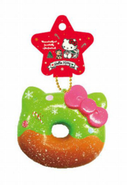 Hello Kitty Festive Donut Squishy