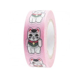 Washi tape - Lucky Cat