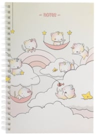 Notebook A5 - Unikitties - Cutiesquad