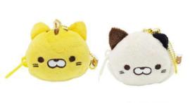 Mini Sleutelhanger Portemonneetje Yamani Mikemura-san Cat