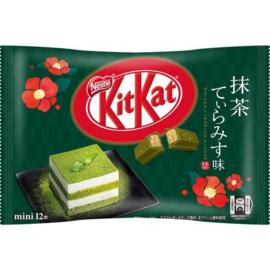 KitKat mini Matcha Tiramisu - zak 12 stuks