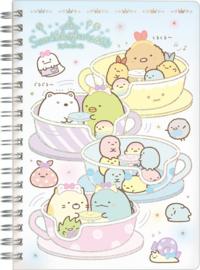 Notebook Sumikkogurashi Tapioca Park Teacups
