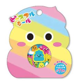 Stickerzakje Flake Seal  Happy Poo