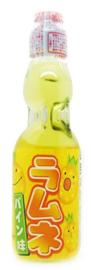 Ramune Pineapple Japanese Soda drink