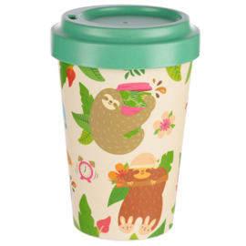 Kawaii Take-Away Becher Sloth