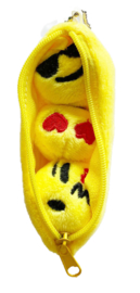 Kawaii beans mini plushie yellow