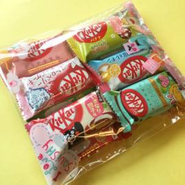 Japanischen KitKat Testpaket (15 schmecken!)